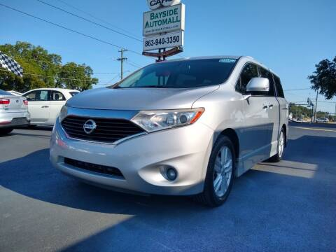 2013 Nissan Quest for sale at BAYSIDE AUTOMALL in Lakeland FL