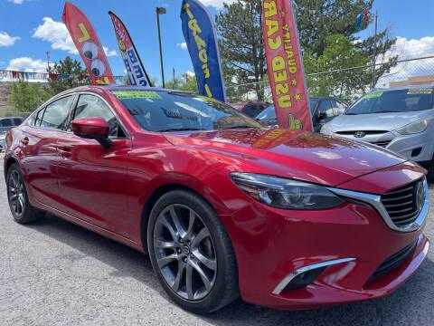 2017 Mazda MAZDA6 for sale at Duke City Auto LLC in Gallup NM