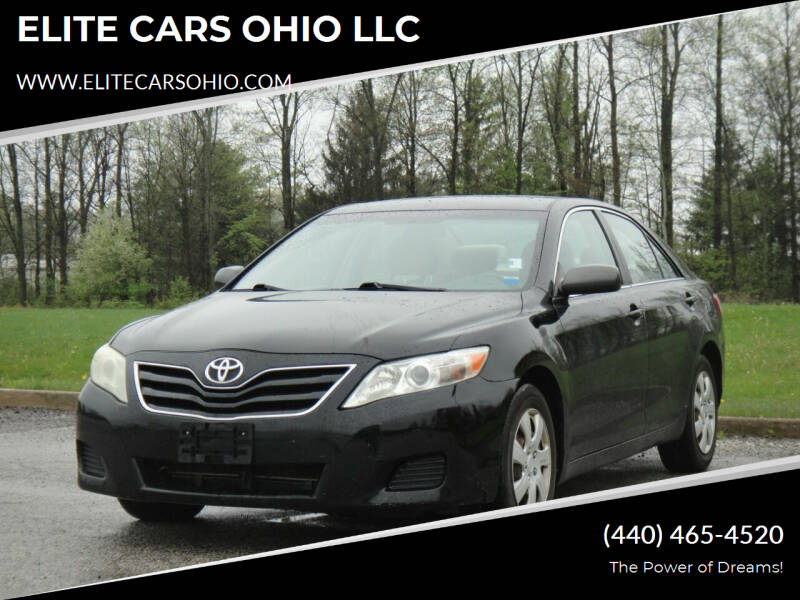 2011 Toyota Camry for sale at ELITE CARS OHIO LLC in Solon OH