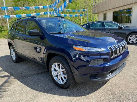 2016 Jeep Cherokee for sale at Matt Jones Preowned Auto in Wheeling WV
