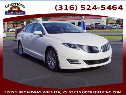 2013 Lincoln MKZ for sale at Credit King Auto Sales in Wichita KS