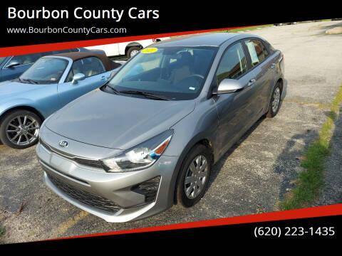 2021 Kia Rio for sale at Bourbon County Cars in Fort Scott KS