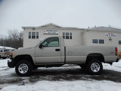 2003 GMC Sierra 2500HD for sale at SOUTHERN SELECT AUTO SALES in Medina OH