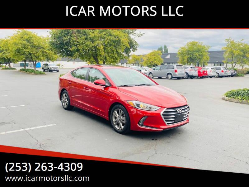2018 Hyundai Elantra for sale at ICAR MOTORS LLC in Federal Way WA