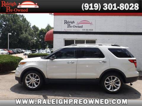 2012 Ford Explorer for sale at Raleigh Pre-Owned in Raleigh NC
