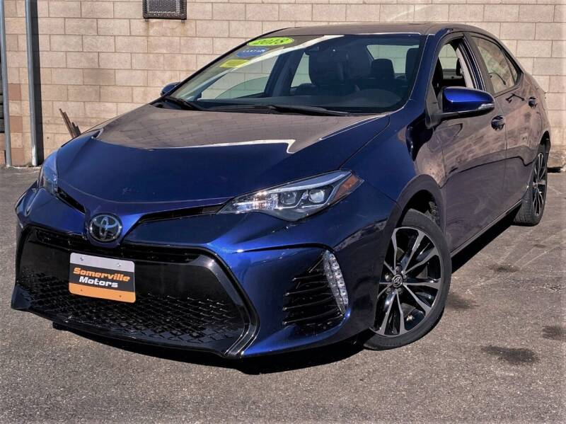2018 Toyota Corolla for sale at Somerville Motors in Somerville MA
