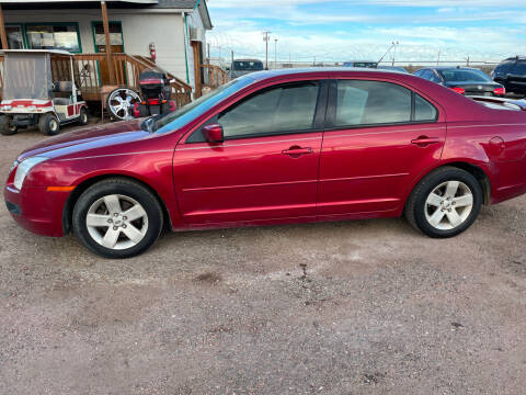 2008 Ford Fusion for sale at PYRAMID MOTORS - Fountain Lot in Fountain CO