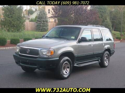 1999 Mercury Mountaineer for sale at Absolute Auto Solutions in Hamilton NJ