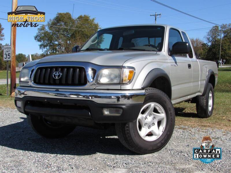 2004 Toyota Tacoma for sale at High-Thom Motors in Thomasville NC