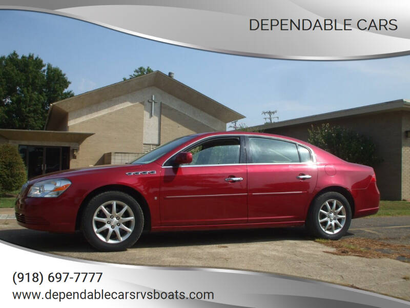 2008 Buick Lucerne for sale at DEPENDABLE CARS in Mannford OK