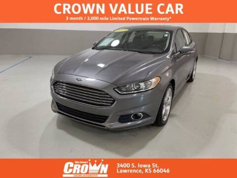2013 Ford Fusion for sale at Crown Automotive of Lawrence Kansas in Lawrence KS