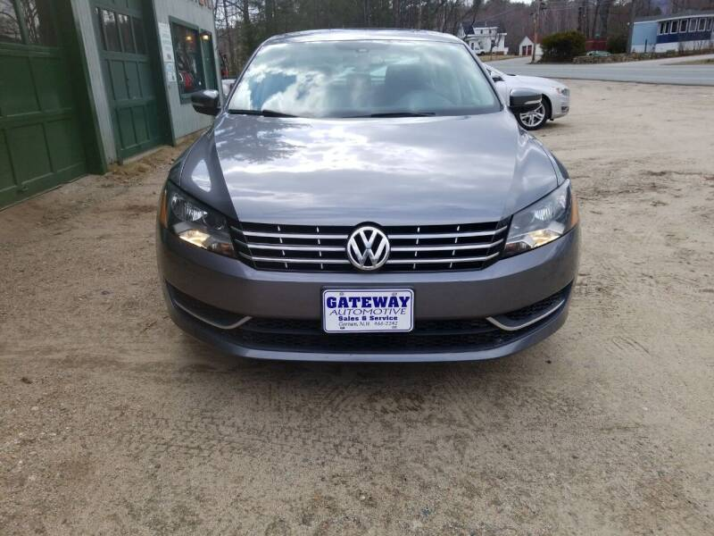 2014 Volkswagen Passat for sale at GATEWAY AUTOMOTIVE in Gorham NH
