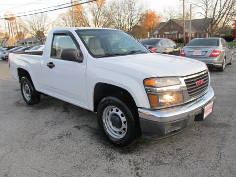2011 GMC Canyon for sale at St. Mary Auto Sales in Hilliard OH