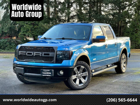 2012 Ford F-150 for sale at Worldwide Auto Group in Auburn WA