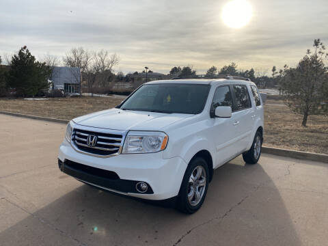 2013 Honda Pilot for sale at QUEST MOTORS in Englewood CO
