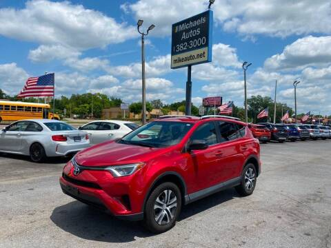 2016 Toyota RAV4 for sale at Michaels Autos in Orlando FL
