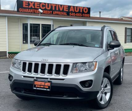 2011 Jeep Compass for sale at Executive Auto in Winchester VA