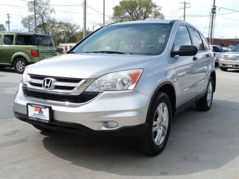 2010 Honda CR-V for sale at EURO MOTORS AUTO DEALER INC in Champaign IL