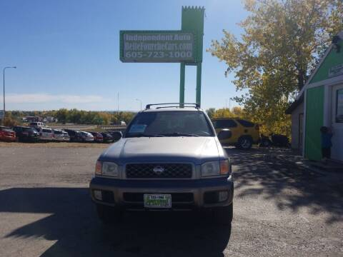 2001 Nissan Pathfinder for sale at Independent Auto in Belle Fourche SD