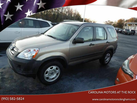 2006 Honda CR-V for sale at Carolina Motors at the Rock - Carolina Motors-Thomasville in Thomasville NC