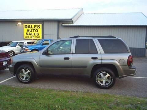 2005 Chevrolet TrailBlazer for sale at Dales Auto Sales in Hutchinson MN