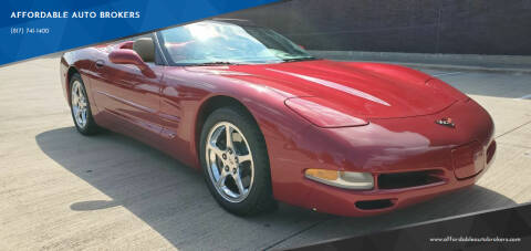 2004 Chevrolet Corvette for sale at AFFORDABLE AUTO BROKERS in Keller TX