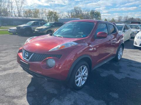 2012 Nissan JUKE for sale at Paul Hiltbrand Auto Sales LTD in Cicero NY