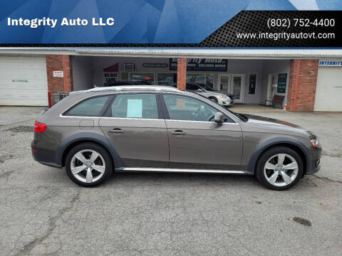 2014 Audi Allroad for sale at Integrity Auto LLC - Integrity Auto 2.0 in St. Albans VT