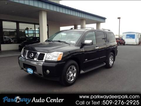 2007 Nissan Armada for sale at PARKWAY AUTO CENTER AND RV in Deer Park WA