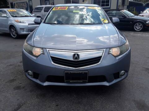 2012 Acura TSX for sale at AUTO IMAGE PLUS in Tampa FL