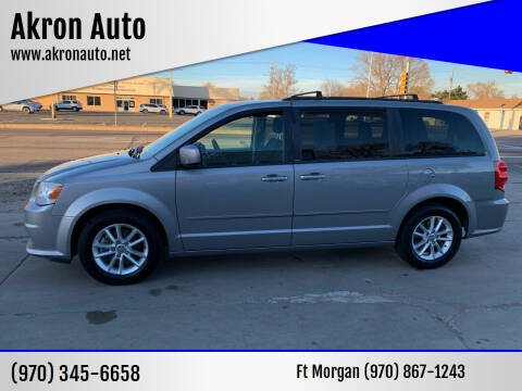 2014 Dodge Grand Caravan for sale at Akron Auto in Akron CO