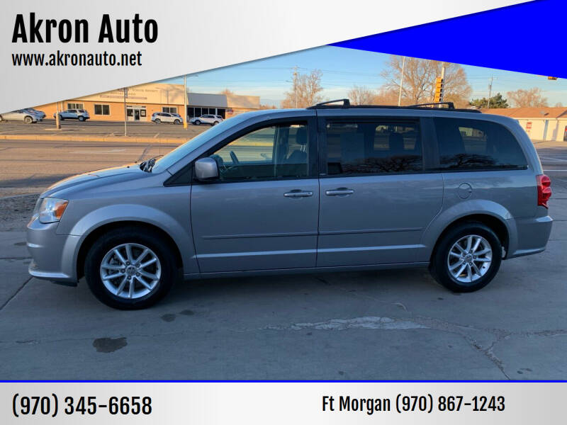 2014 Dodge Grand Caravan for sale at Akron Auto - Fort Morgan in Fort Morgan CO