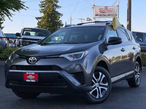 2016 Toyota RAV4 for sale at Real Deal Cars in Everett WA