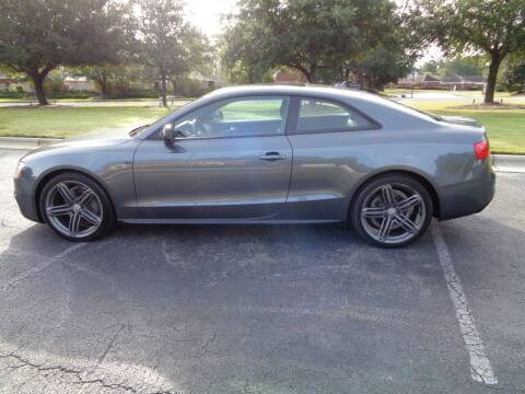 2014 Audi A5 for sale at BALKCUM AUTO INC in Wilmington NC