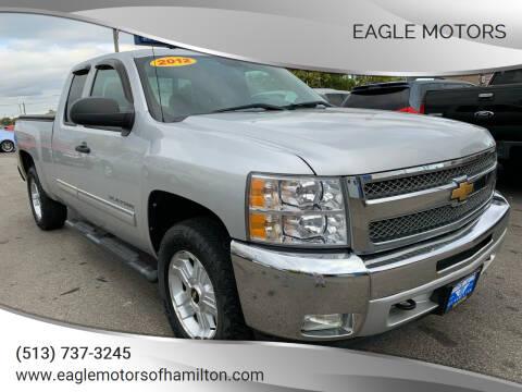 2012 Chevrolet Silverado 1500 for sale at Eagle Motors in Hamilton OH