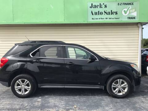 2010 Chevrolet Equinox for sale at Jack's Auto Sales in Port Richey FL