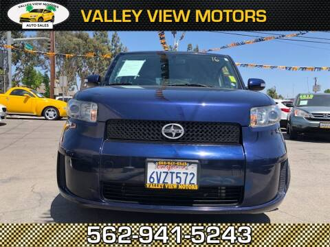 2008 Scion xB for sale at Valley View Motors in Whittier CA