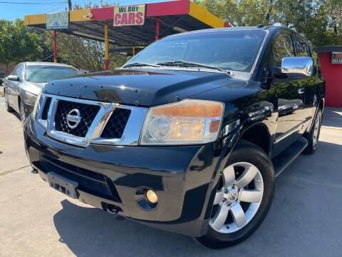 2012 Nissan Armada for sale at Cash Car Outlet in Mckinney TX