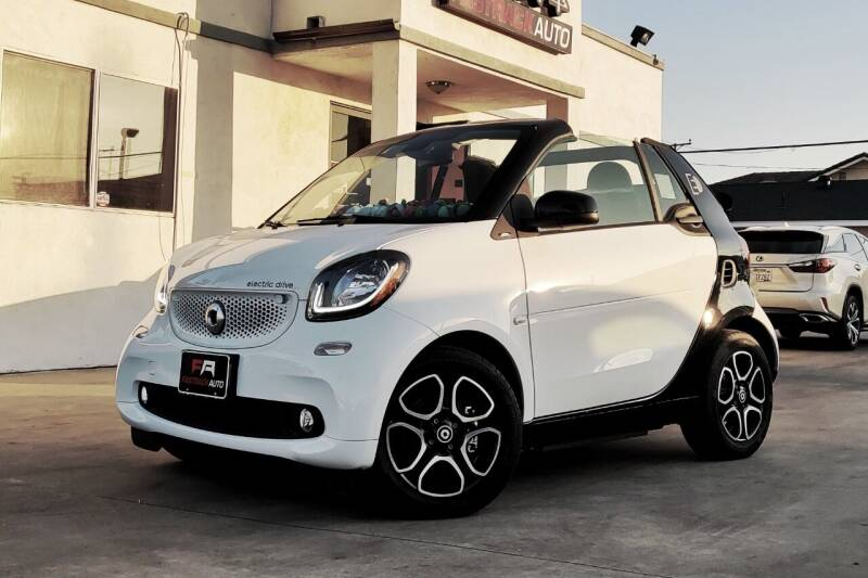 2018 Smart fortwo electric drive for sale at Fastrack Auto Inc in Rosemead CA