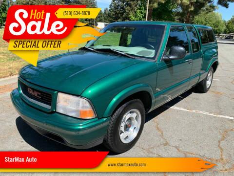 1998 GMC Sonoma for sale at StarMax Auto in Fremont CA