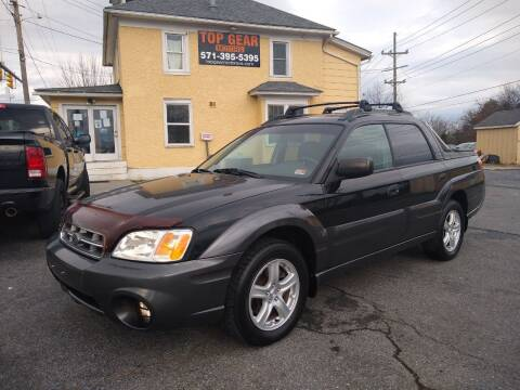 2005 Subaru Baja for sale at Top Gear Motors in Winchester VA