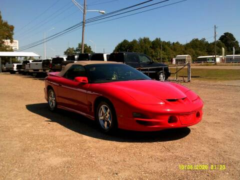 2001 Pontiac Firebird for sale at Tom Boyd Motors in Texarkana TX