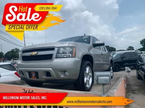 2008 Chevrolet Avalanche for sale at MILLENIUM MOTOR SALES, INC. in Rosenberg TX