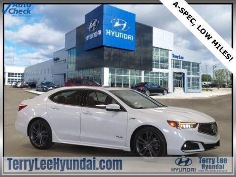 2019 Acura TLX for sale at Terry Lee Hyundai in Noblesville IN
