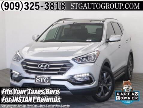2018 Hyundai Santa Fe Sport for sale at STG Auto Group in Montclair CA