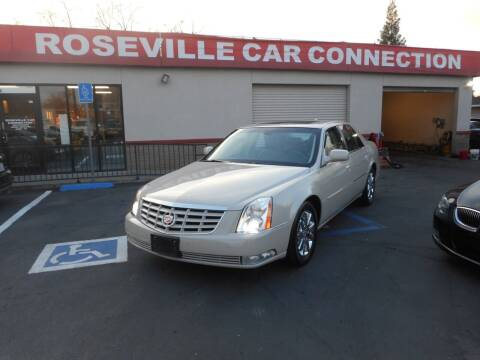 2011 Cadillac DTS for sale at ROSEVILLE CAR CONNECTION in Roseville CA