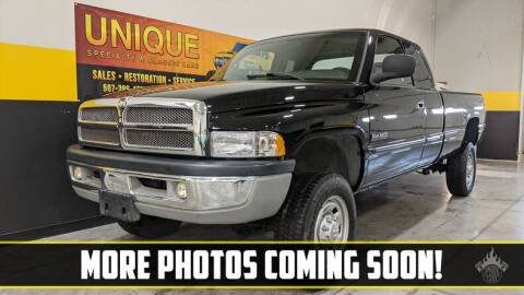 2001 Dodge Ram Pickup 2500 for sale at UNIQUE SPECIALTY & CLASSICS in Mankato MN