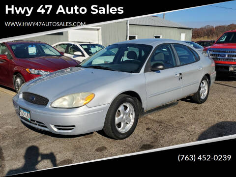 2006 Ford Taurus for sale at Hwy 47 Auto Sales in Saint Francis MN