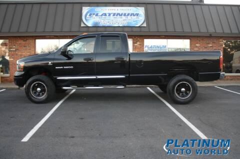 2006 Dodge Ram Pickup 2500 for sale at Platinum Auto World in Fredericksburg VA