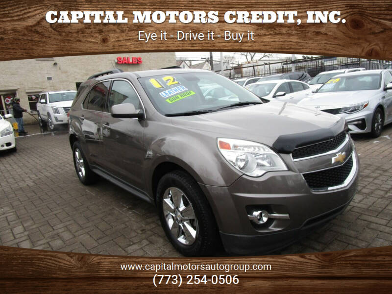 2012 Chevrolet Equinox for sale at Capital Motors Credit, Inc. in Chicago IL